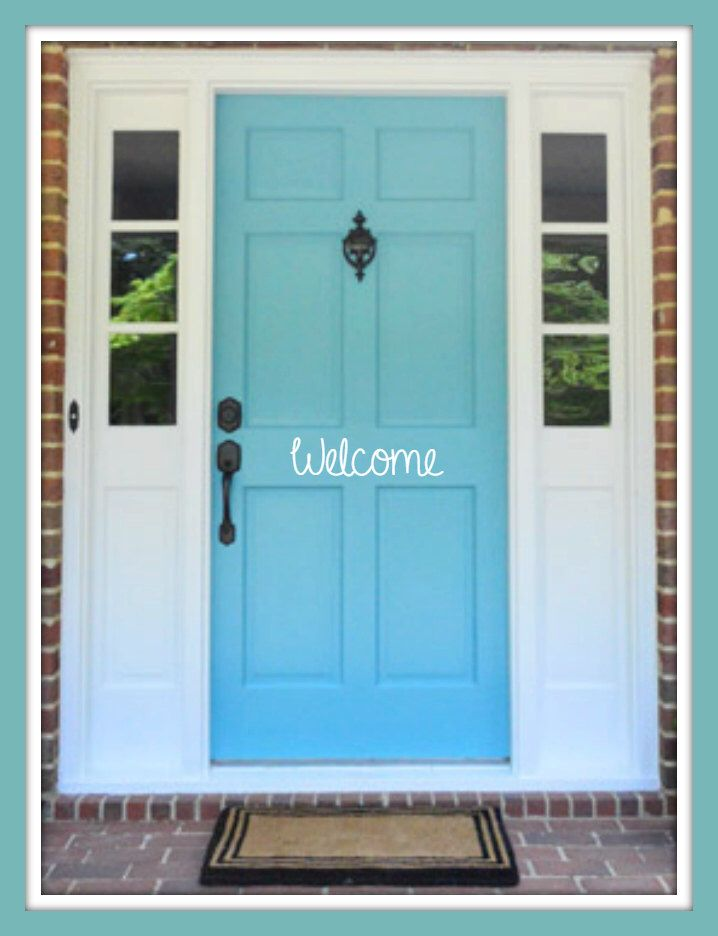 Door Decal, Welcome Decal, Welcome Vinyl Decal, Vinyl Decal, Door Decals, Door Vinyl Decals, Custom Decals, Personalized Decals by ArtistasBoutique on Etsy https://www.etsy.com/listing/263498323/door-decal-welcome-decal-welcome-vinyl