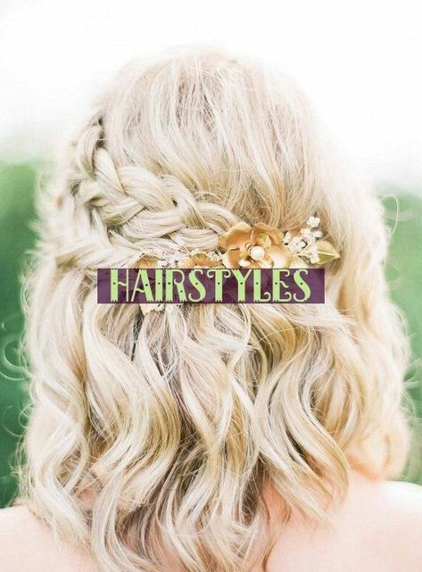90s hairstyles Half Up Half Down Wedding Hairstyles For ...