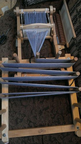 Ravelry: jeen's WARPING BOARD WITH RIGID HEDDLE LOOM