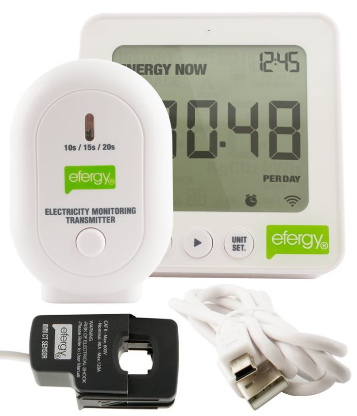 Efergy E2 Energy Monitor with USB & Software