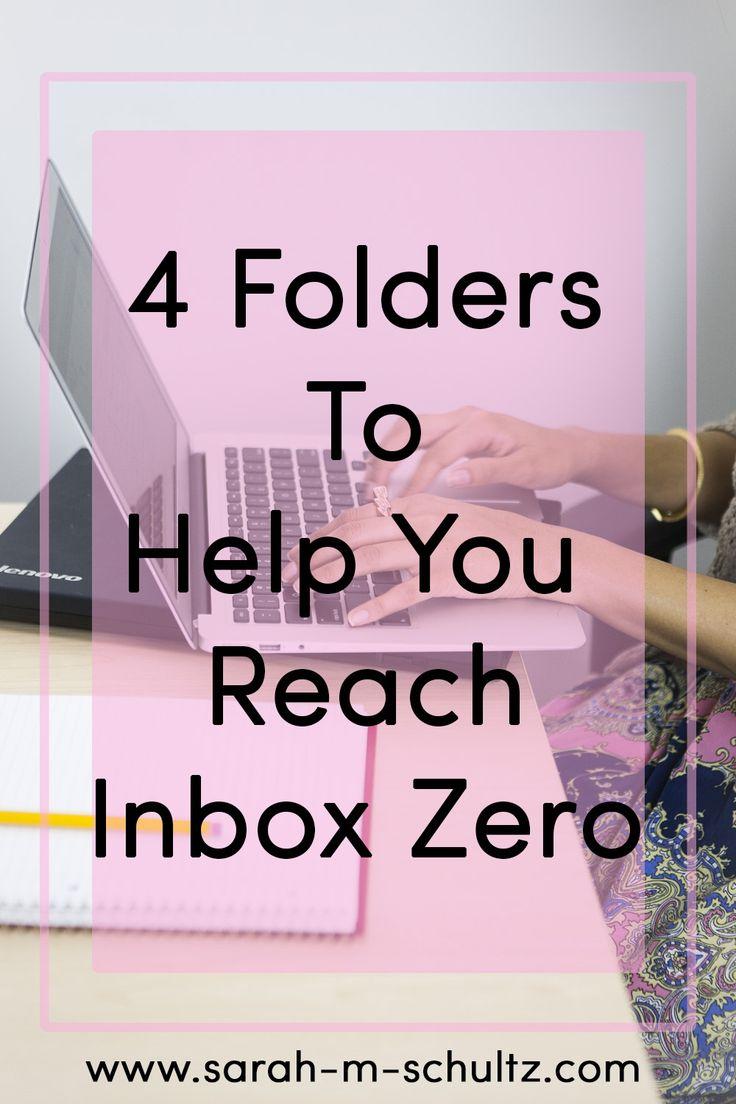 4 Folders to Help You Reach Inbox Zero