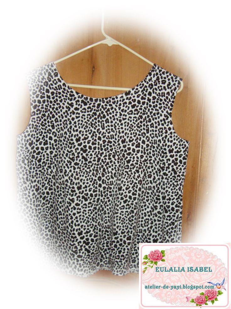 Sport, en tela camiseta, estampado minimalista, muy fresca, para usar en tiempos de calor.