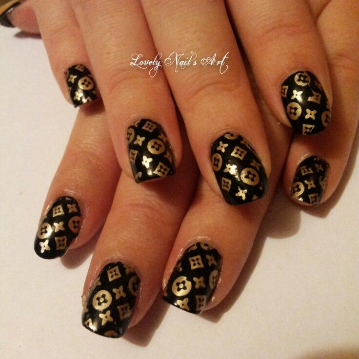 Louis Vuitton Nail Stickers | Best Nail Designs 2018