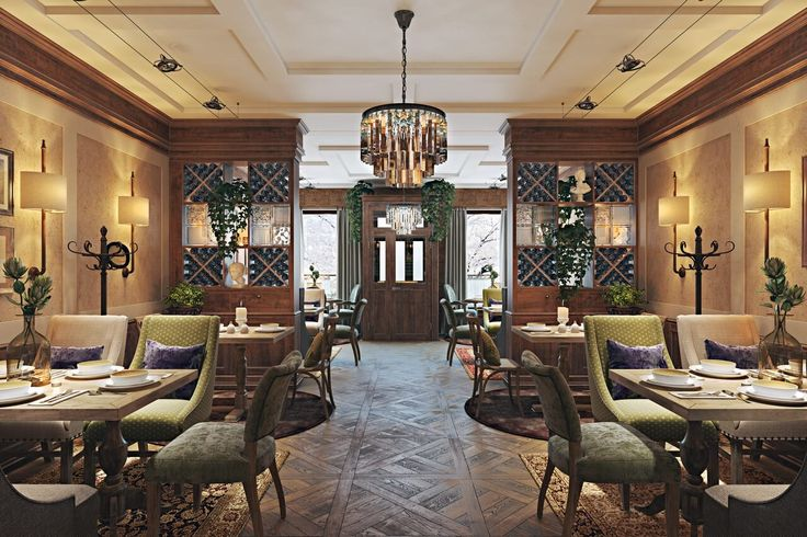 This gorgeous bar design depends on ideal symmetry. The execution of the original design ideas can become so much easier with photorealistic interior rendering by ArchiCGI architectural rendering company.