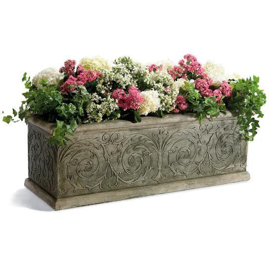 Best 25 Rectangular planters ideas on Pinterest Rectangular