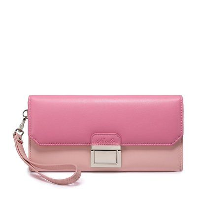 #pink #clutch #love #purse #leather #fashion  Get it from www.shoppingromania.com