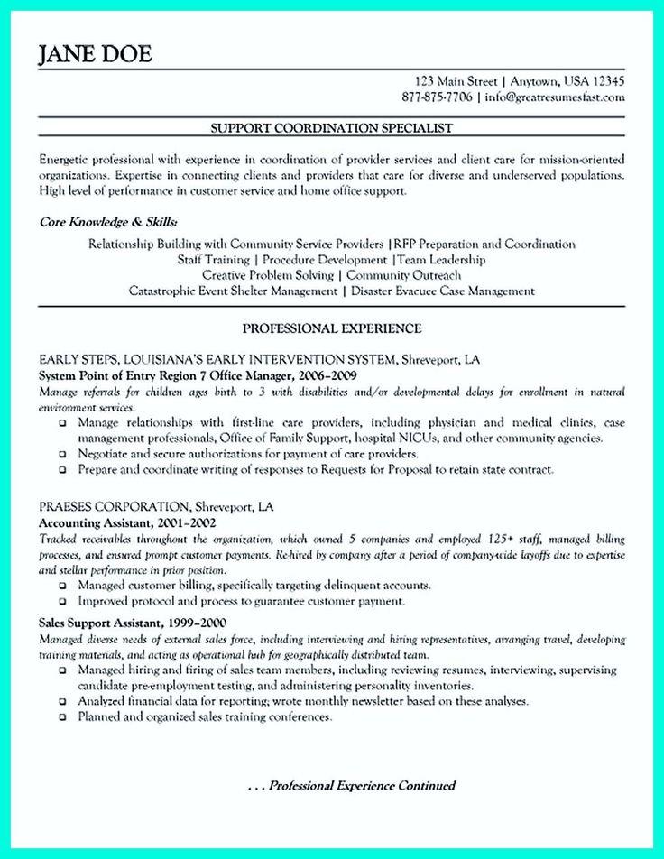 Resume Format Mistakes Sample resume, Medical