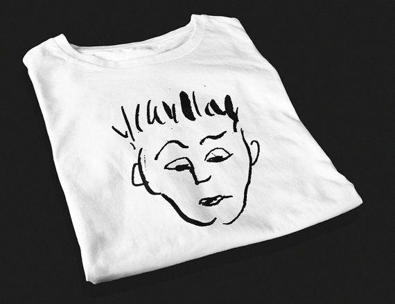 Devastated Dude  Screen Printed T-Shirt by yoinkprintshop on Etsy