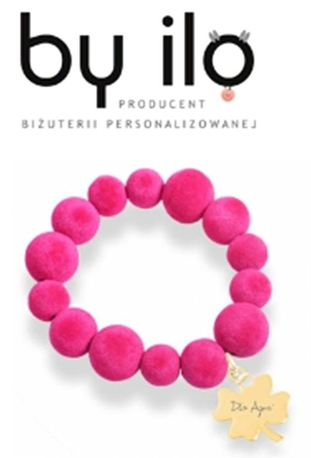 """Partner konkursów marki Asnax - producent biżuterii spersonalizowanej """"by ilo"""". W ofercie bransoletki i naszyjniki na bazie skóry ekologicznej,  zamszu, tradycyjne łańcuszkowe, a także kolczyki. Zarówno gotowe kolekcje, jak również specjalne aplikacje na stronie www.byilo.pl, które pozwalają tworzyć własną, niepowtarzalną biżuterię. http://www.byilo.pl/"""