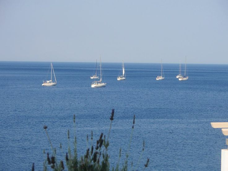 Sailing on Thassos island