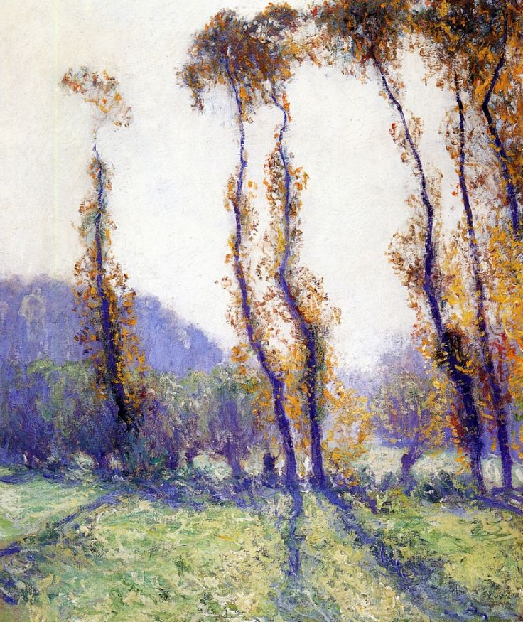 Guy Rose (American, 1867-1928) October Morning, n.d. Oil on canvas.