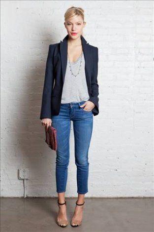 Kurze Jeansmode