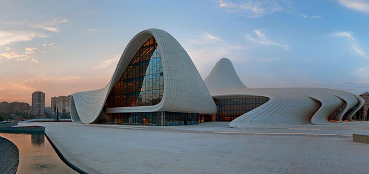 Heydar Aliyev Center di Baku - DAILYBEST