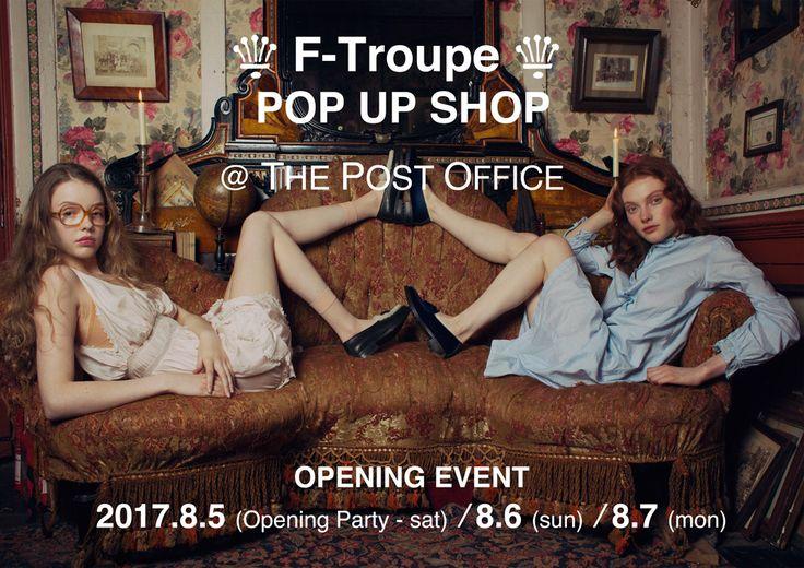 英国の人気シューズブランド『F-TROUPE』の期間限定ショップがオープンします!
