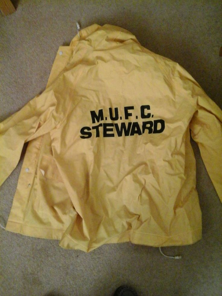 Maidstone United stewards jacket