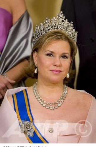 Grand Duchess Maria Teresa of Luxembourg celebrates her 58th birthday today, March 22, 2014.