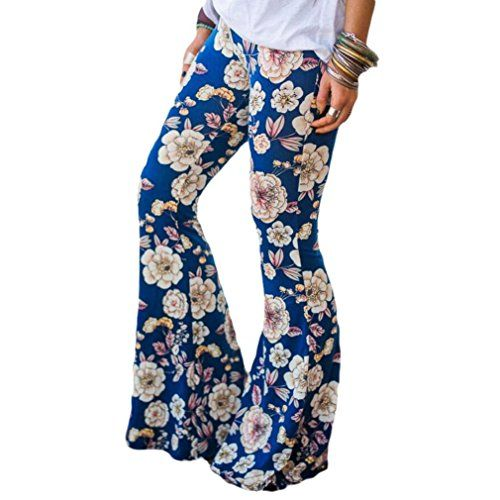 "PHOTNO Wide Leg High Waist Ankle Length Pants Women Stretch Bottoms Yoga Flare Pants Trouser  ❤! Attention:Please choose 1 or 2 larger size for the item size,Such as: US size:M should choose our size L or XL,because the Asian size always smaller than the European and American size. and see our "" Product Description"" size chart. Compare the detail sizes with yours before you buy!!! Use similar clothing to compare with the size.  ❤Gender:Women, Girl  ❤Material:Milk Silk (Polyester)  ❤Sty..."