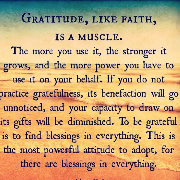 Staying Grateful, no matter...