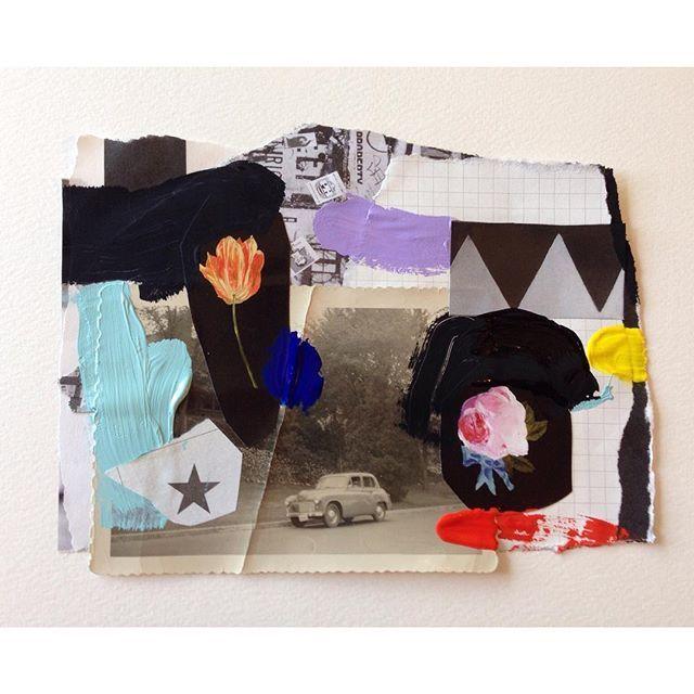 New colour study... #art #painting #abstract #paper #collage #artonpaper #mixedmedia #contemporaryart #ss16 #aw16 #fw16 #ss17 #emilyfiller
