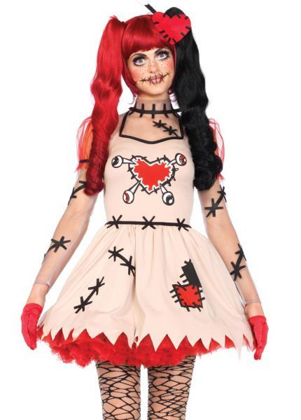 Картинки по запросу кукла вуду костюм