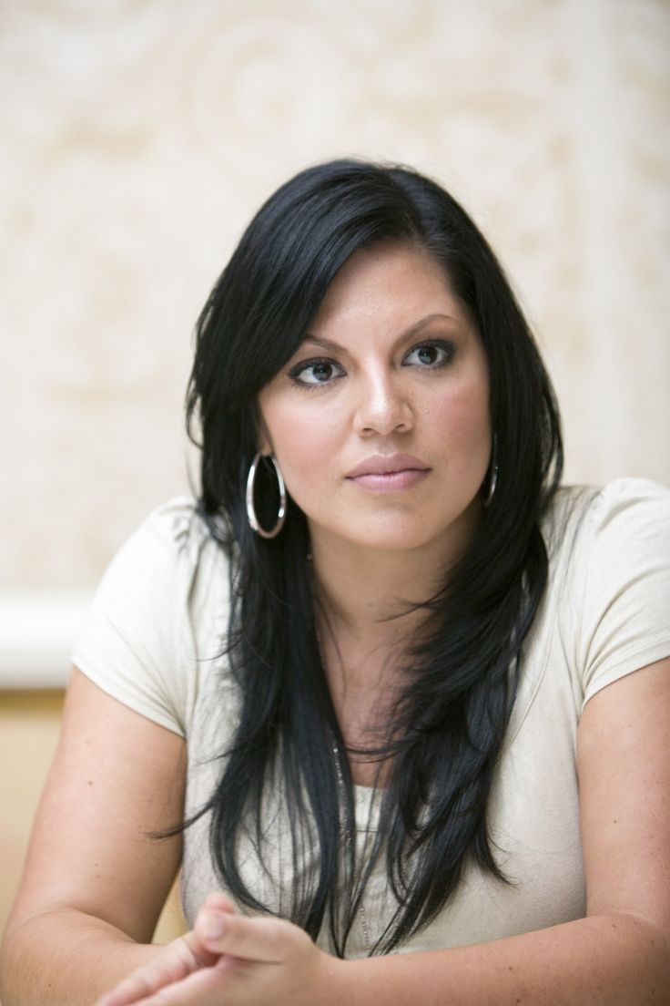 Sara Ramirez aka Dr. Callie Torres from Grey's Anatomy. She's my tv wife I don't care what ...