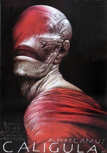 'Caligula'. Autor: Wiesław Wałkuski, 1990r.