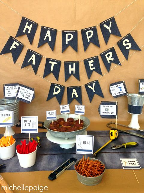 Tool Party for Father's Day