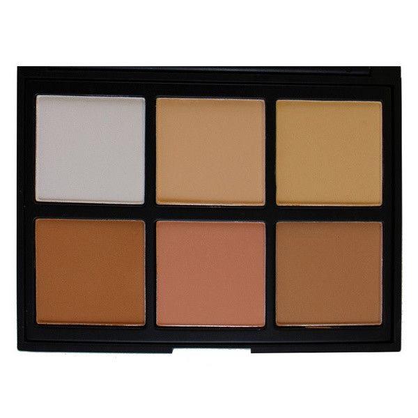 Morphe - 06PC - Cool Pro Definition Palette