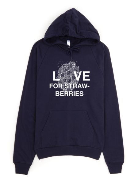 Love for Strawberries Hoodies - Unisex (Multiple Colours)