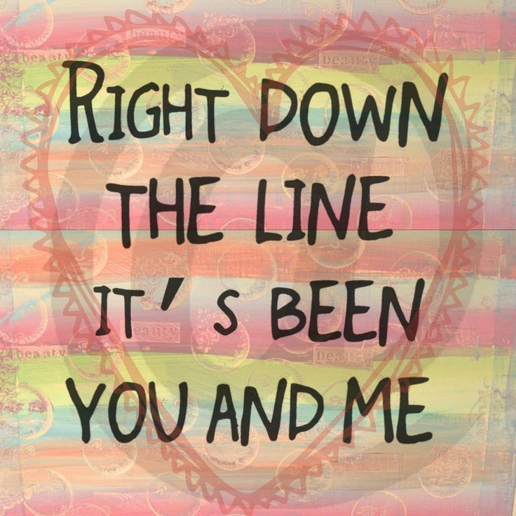 You and Me - Journey song lyrics. $5.00, via Etsy.