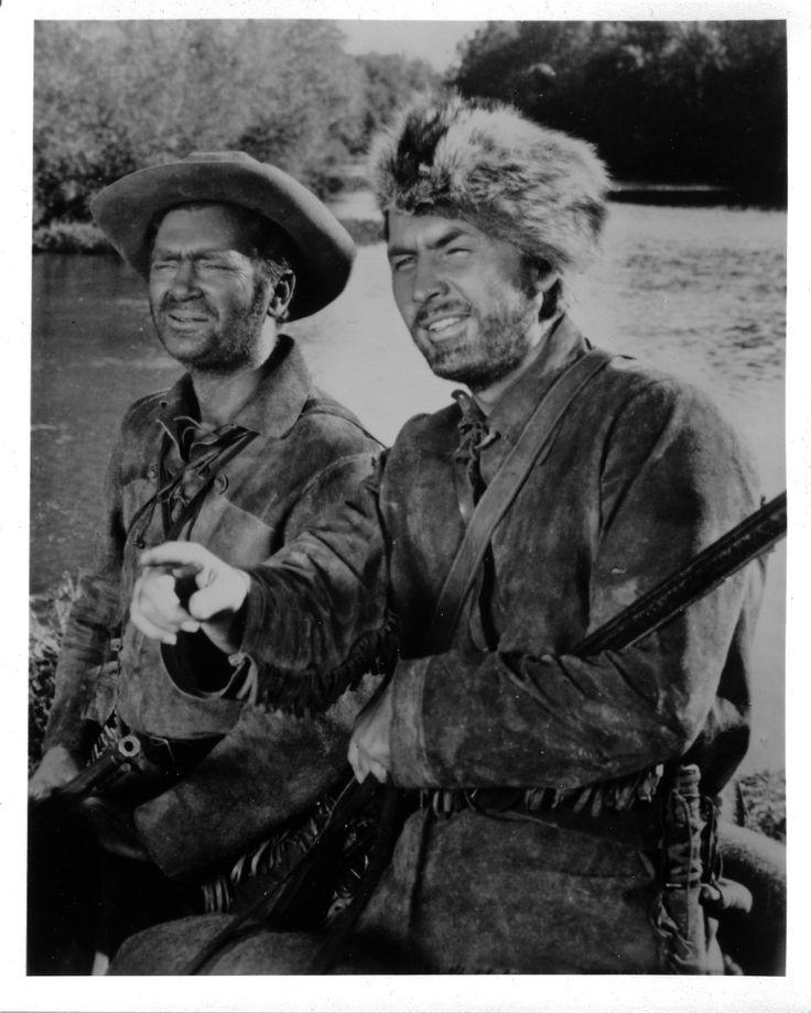 Buddy Epsen and Fess Parker ... Davy Crockett