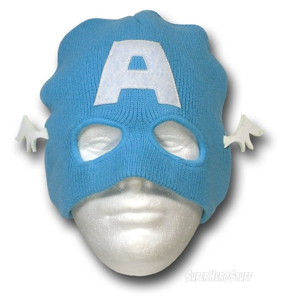 Images of Captain America Mask Costume Beanie