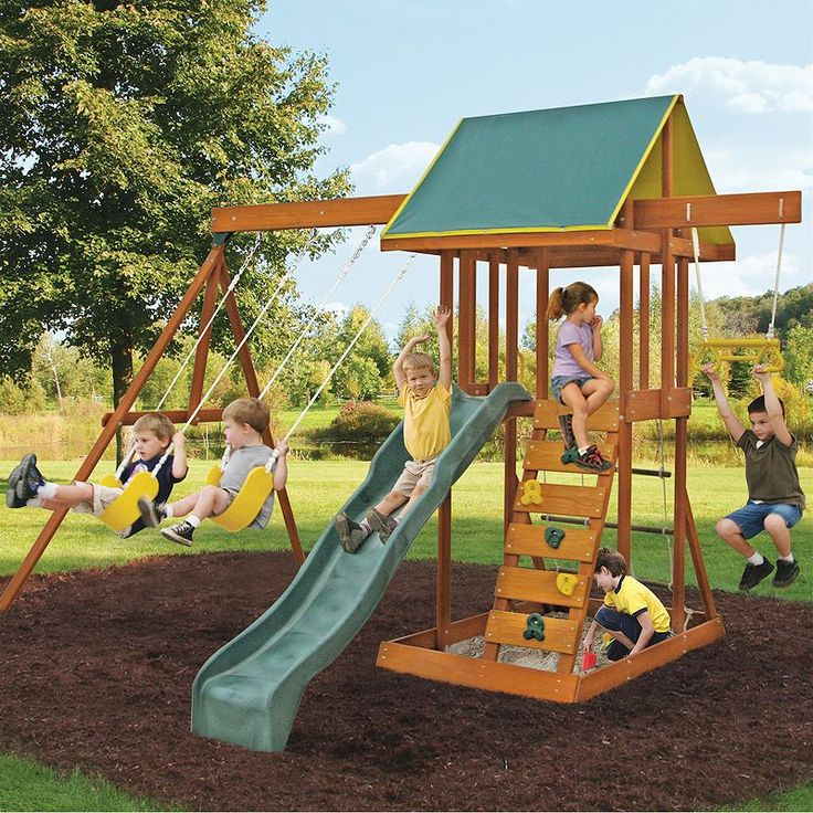 30 Best Backyard Playsets Images On Pinterest
