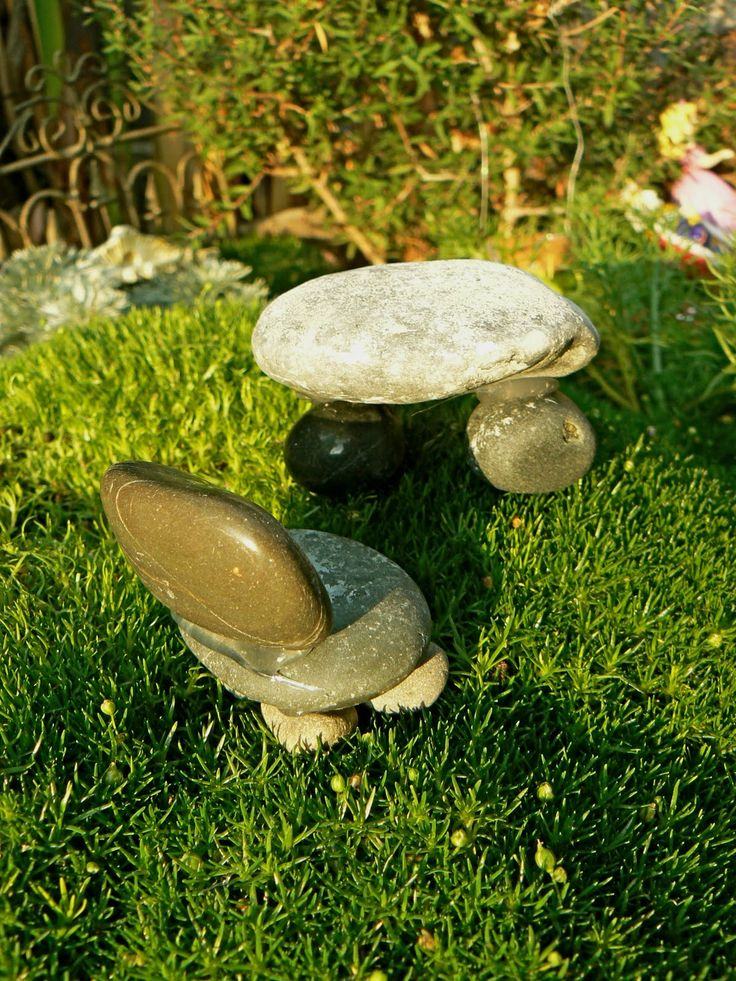 How to make a table and chair for fairies