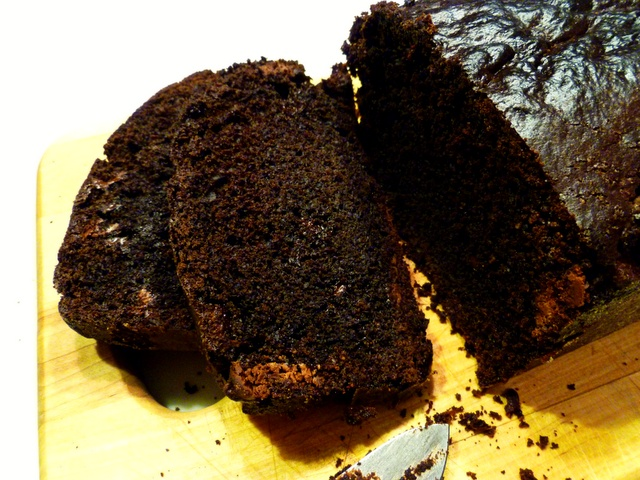 Double-Chocolate Loaf With Peanut Butter Cream Cheese Spread Recipe ...
