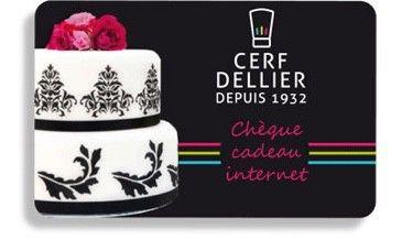 Offrez un chèque cadeau internet Cerf Dellier !