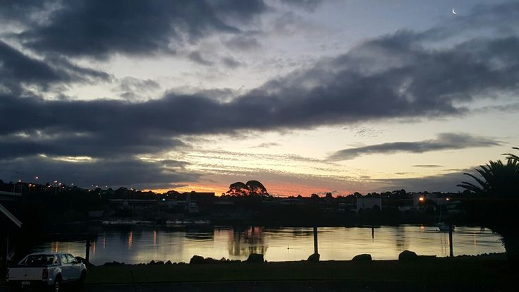 Just another beautiful sunset in East Devonport, Tasmania