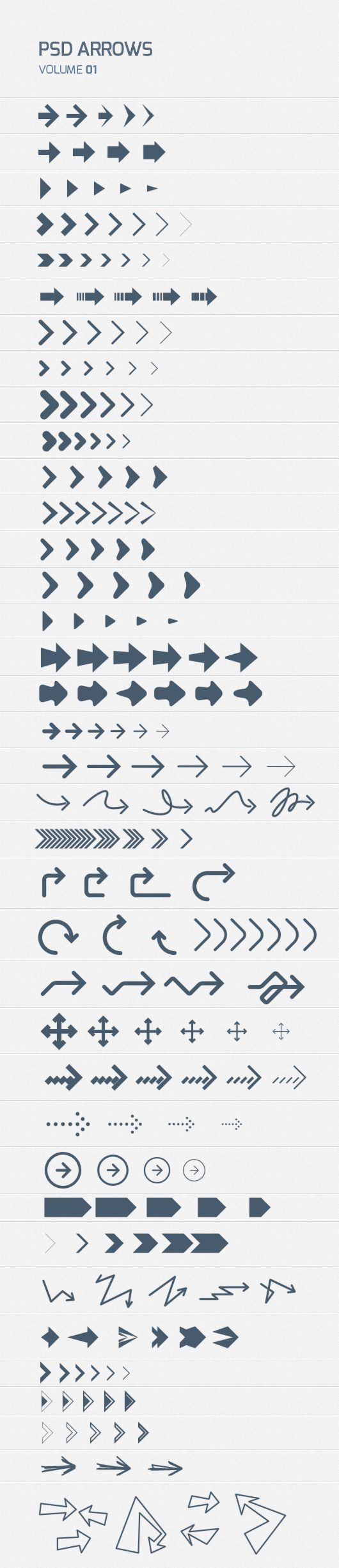 200+ Free Psd Arrows