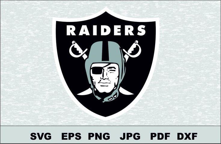 Oakland Raiders Cricut Nfl In 2020 Logo Silhouette Oakland Raiders Logo Svg