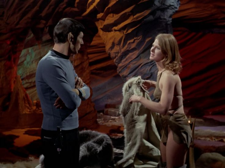 "Star Trek 3 x 23 ""All Our Yesterdays"" Mariette Hartley as Zarabeth"