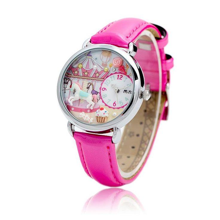 REF.33 Reloj con mini-figuras en 3d porcelana fría.  100% originales, garantía 1 año