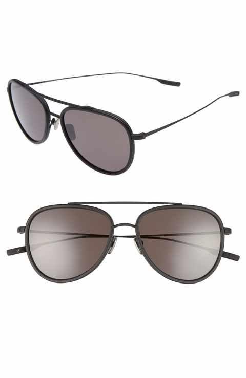 SALT Paragon 55mm Polarized Aviator Sunglasses