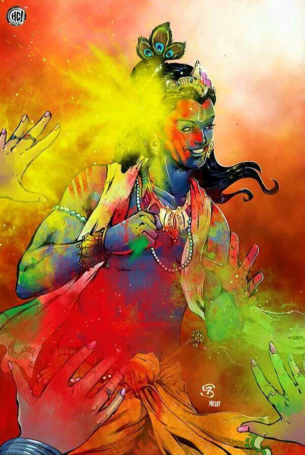 Krishna … More