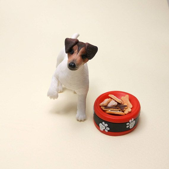 Jack Russell Terrier Miniature Figurine Dog Mom Gift Miniature Dog