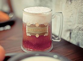 Harry Potter's Butterbeer... great for a Harry Potter party!