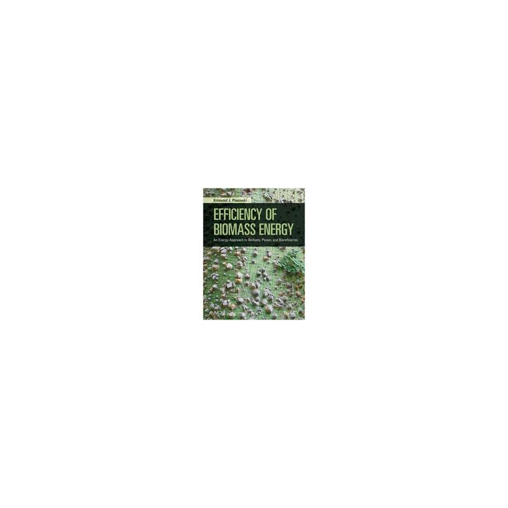 Efficiency of Biomass Energy : An Exergy Approach to Biofuels, Power, and Biorefineries (Hardcover)