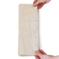 #8 - Flip Organic Inserts.  Only the best next to baby's skin!  Use to stuff pockets, use in other covers, burp cloth, and in 10 years give to kids to wax your car!  #clothdiapers #nopins