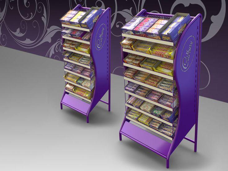 Cadbury 7 Shelf Floor Display My Industrial Design