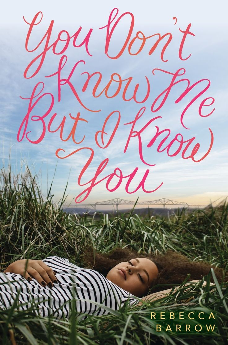 #CoverReveal You Don't Know Me But I Know You by Rebecca Barrow