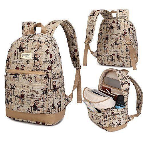 Backpack Womens Macbook School Laptop Travel Student College Girls Daily Gift #BackpackWomensMacbook